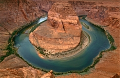 Stream Type F -- Horseshoe Bend, Colorado River, Arizona